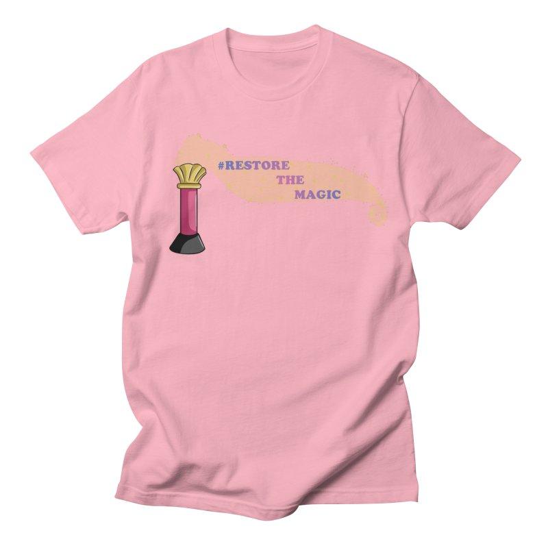 Restore The Magic Men's Regular T-Shirt by RestoreTheMagic's Artist Shop