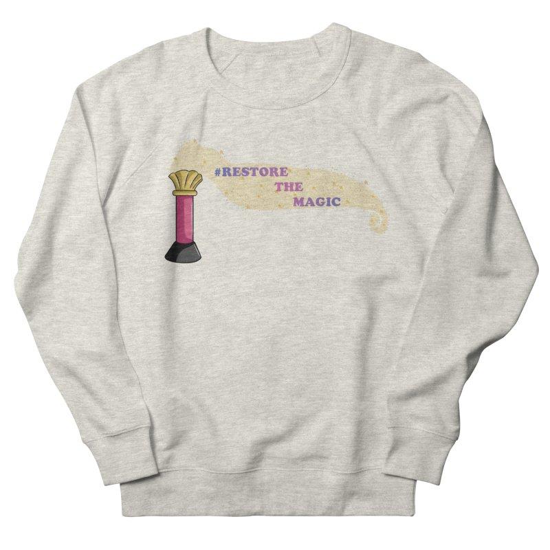 Restore The Magic Men's French Terry Sweatshirt by RestoreTheMagic's Artist Shop