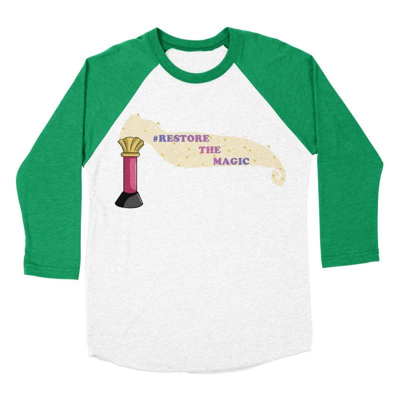 Restore The Magic Men's Baseball Triblend Longsleeve T-Shirt by RestoreTheMagic's Artist Shop