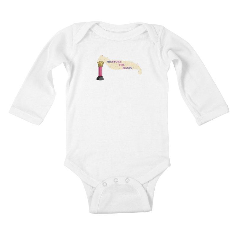 Restore The Magic Kids Baby Longsleeve Bodysuit by RestoreTheMagic's Artist Shop