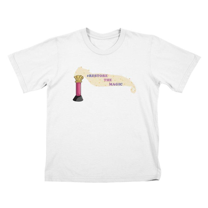 Restore The Magic Kids T-Shirt by RestoreTheMagic's Artist Shop