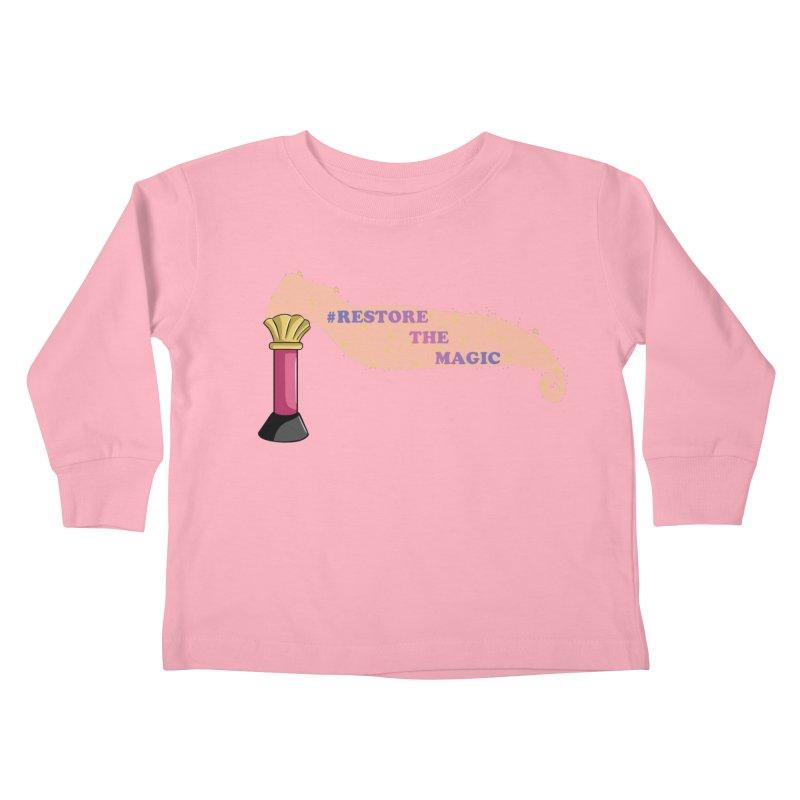 Restore The Magic Kids Toddler Longsleeve T-Shirt by RestoreTheMagic's Artist Shop