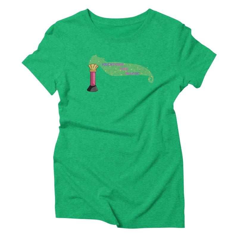 Restore The Magic Women's Triblend T-Shirt by RestoreTheMagic's Artist Shop