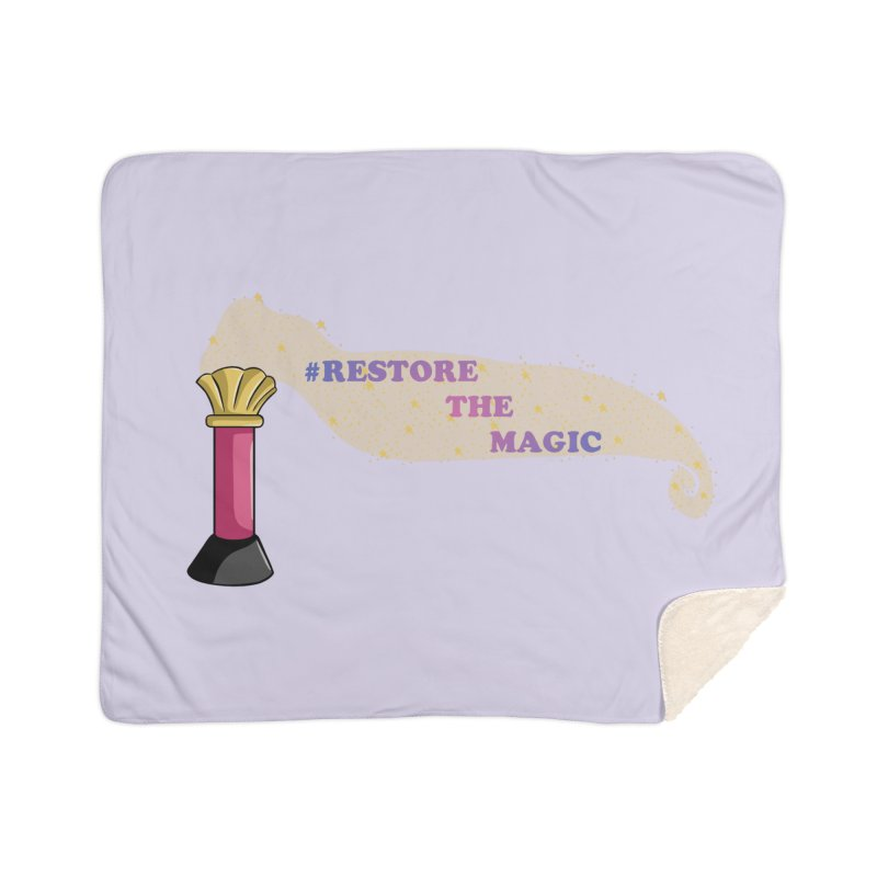 Restore The Magic Home Sherpa Blanket Blanket by RestoreTheMagic's Artist Shop