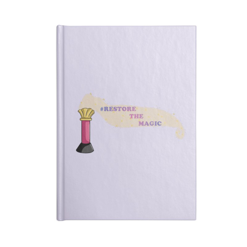 Restore The Magic Accessories Lined Journal Notebook by RestoreTheMagic's Artist Shop