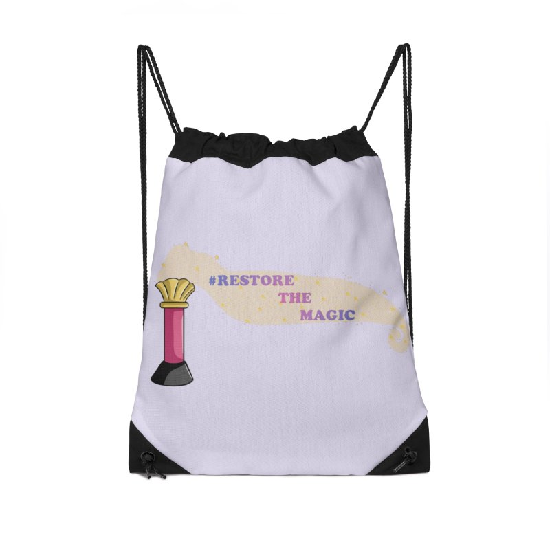 Restore The Magic Accessories Drawstring Bag Bag by RestoreTheMagic's Artist Shop