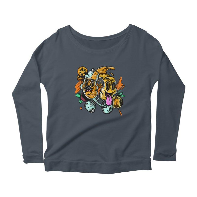 Mimos Women's Scoop Neck Longsleeve T-Shirt by RevengeLover's Corner of the Web