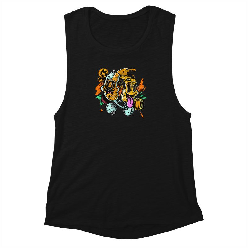 Mimos Women's Muscle Tank by RevengeLover's Corner of the Web