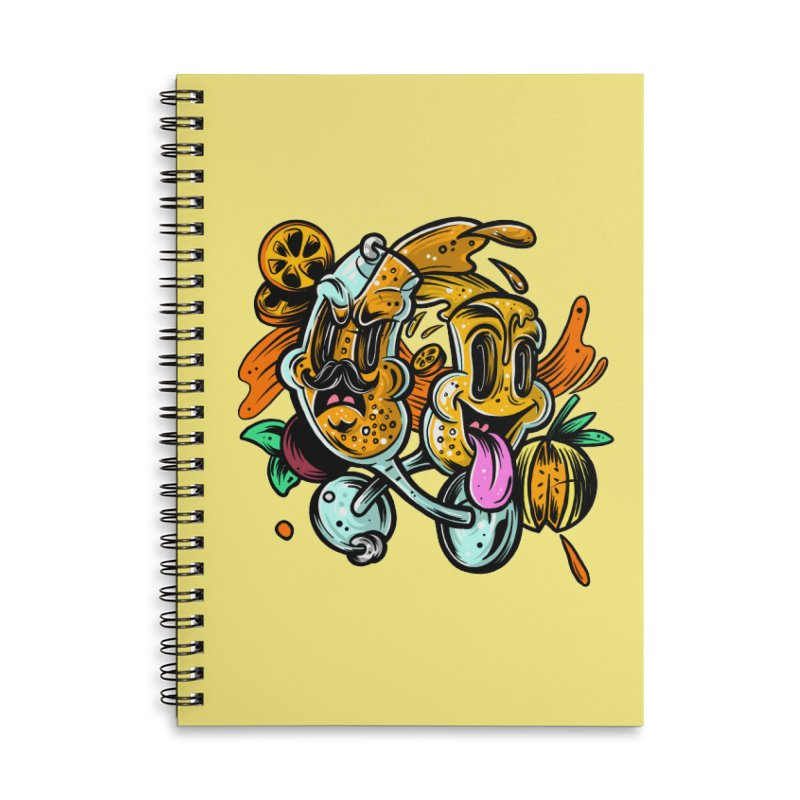 Mimos Accessories Lined Spiral Notebook by RevengeLover's Corner of the Web
