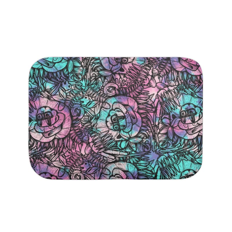 Backyard Mystery Home Bath Mat by RevengeLover's Corner of the Web