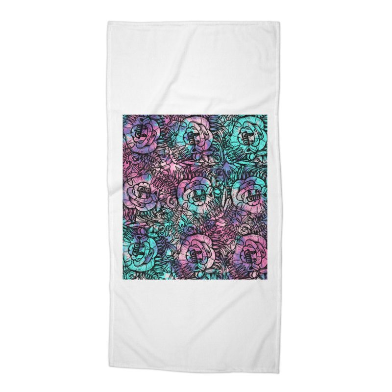 Backyard Mystery Accessories Beach Towel by RevengeLover's Corner of the Web