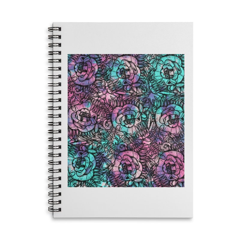 Backyard Mystery Accessories Lined Spiral Notebook by RevengeLover's Corner of the Web