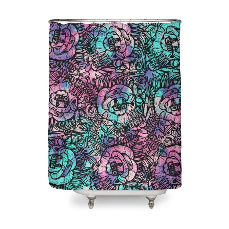 Backyard Mystery Home Shower Curtain by RevengeLover's Corner of the Web