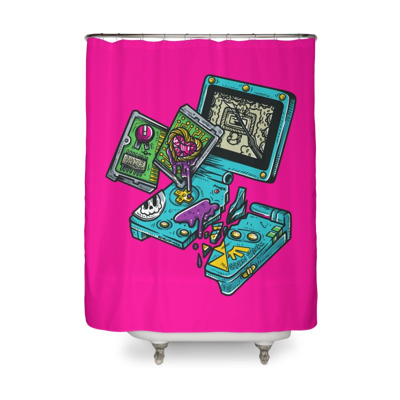 Broken SP Home Shower Curtain by RevengeLover's Corner of the Web
