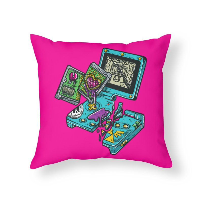 Broken SP Home Throw Pillow by RevengeLover's Corner of the Web