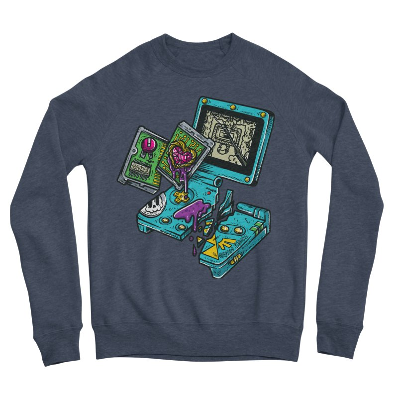 Broken SP Men's Sponge Fleece Sweatshirt by RevengeLover's Corner of the Web