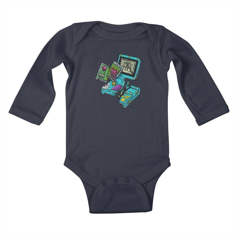 Broken SP Kids Baby Longsleeve Bodysuit by RevengeLover's Corner of the Web