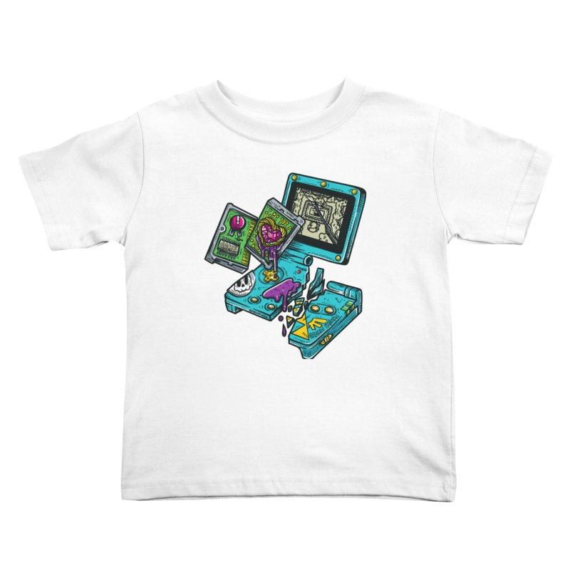 Broken SP Kids Toddler T-Shirt by RevengeLover's Corner of the Web