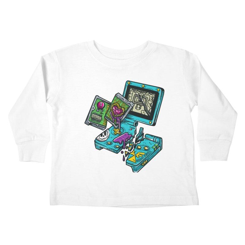 Broken SP Kids Toddler Longsleeve T-Shirt by RevengeLover's Corner of the Web