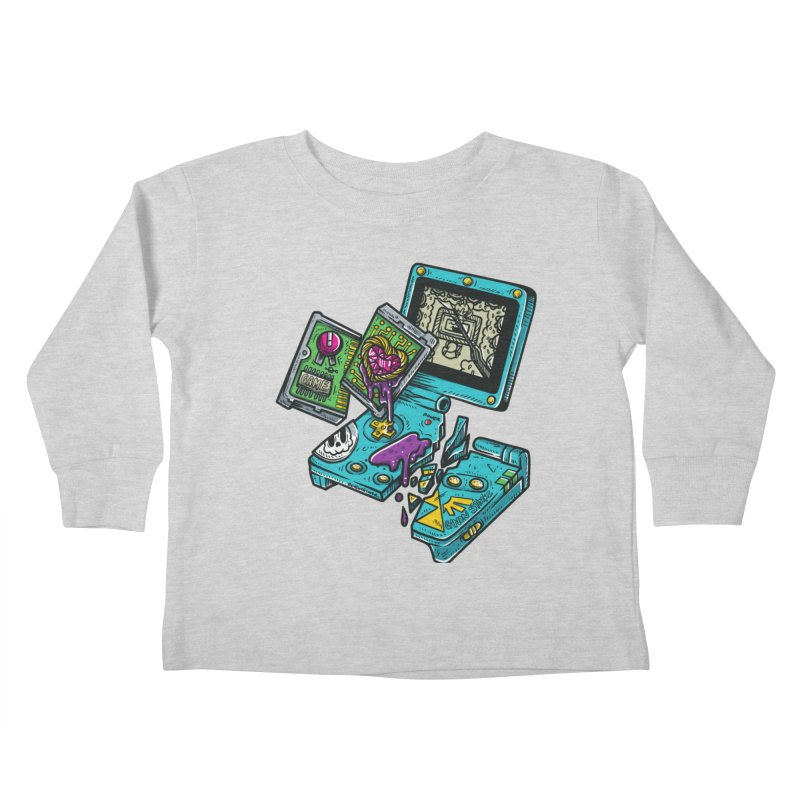 Broken SP Kids Toddler Longsleeve T-Shirt by RevengeLover's Corner of the Web