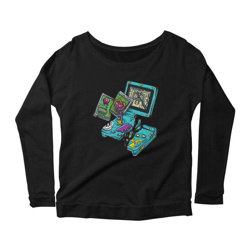 Broken SP Women's Scoop Neck Longsleeve T-Shirt by RevengeLover's Corner of the Web