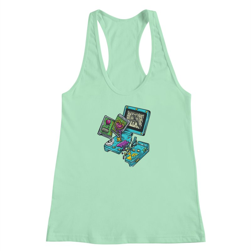 Broken SP Women's Racerback Tank by RevengeLover's Corner of the Web
