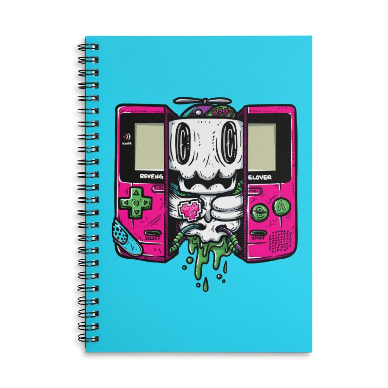 Olds Kool Accessories Lined Spiral Notebook by RevengeLover's Corner of the Web