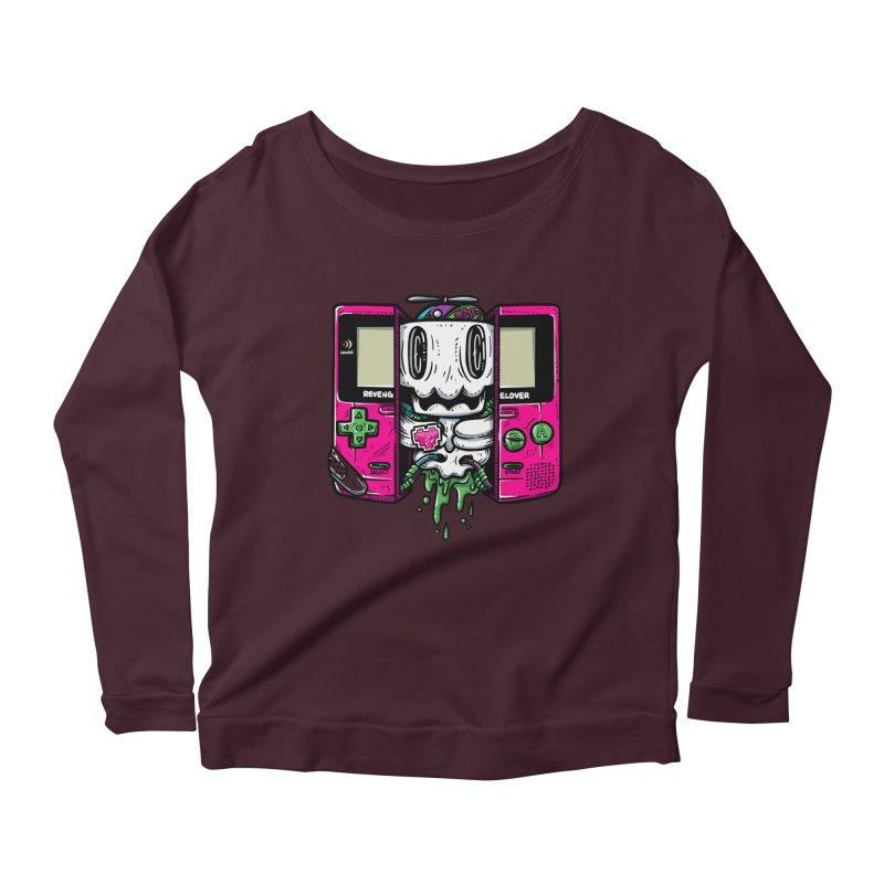 Olds Kool Women's Scoop Neck Longsleeve T-Shirt by RevengeLover's Corner of the Web