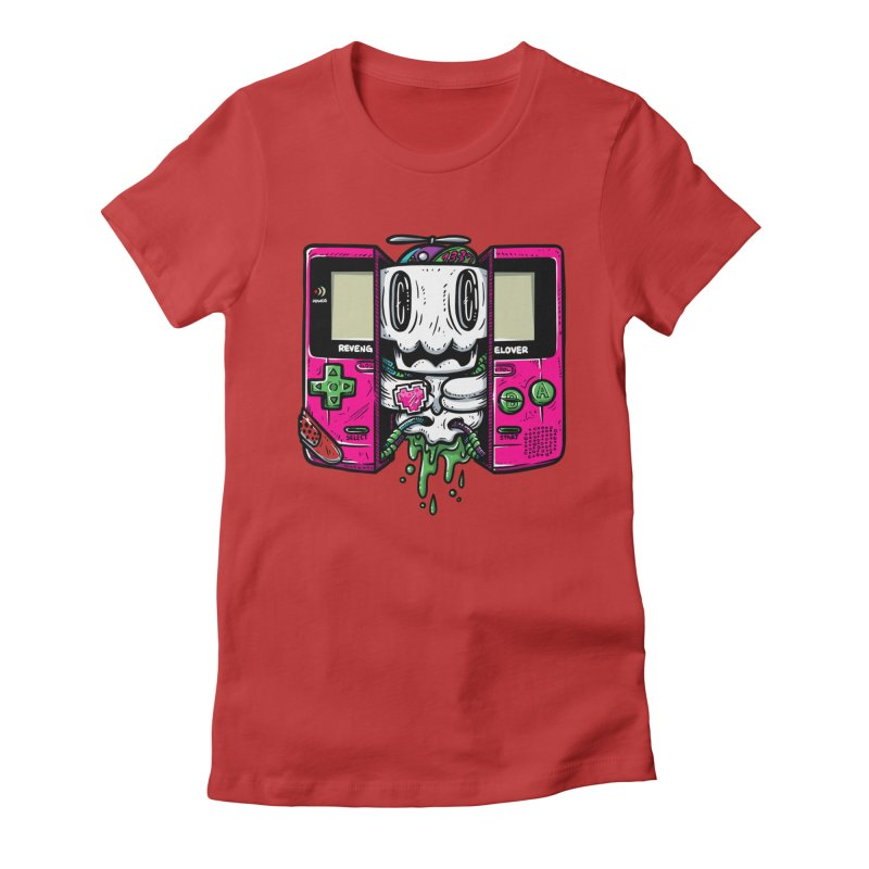 Olds Kool Women's Fitted T-Shirt by RevengeLover's Corner of the Web