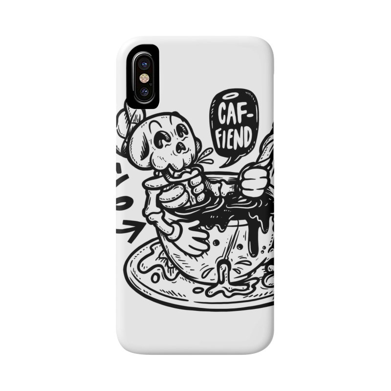 Caf Fiend Accessories Phone Case by RevengeLover's Corner of the Web