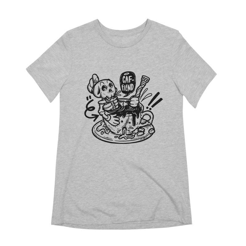 Caf Fiend Women's Extra Soft T-Shirt by RevengeLover's Corner of the Web