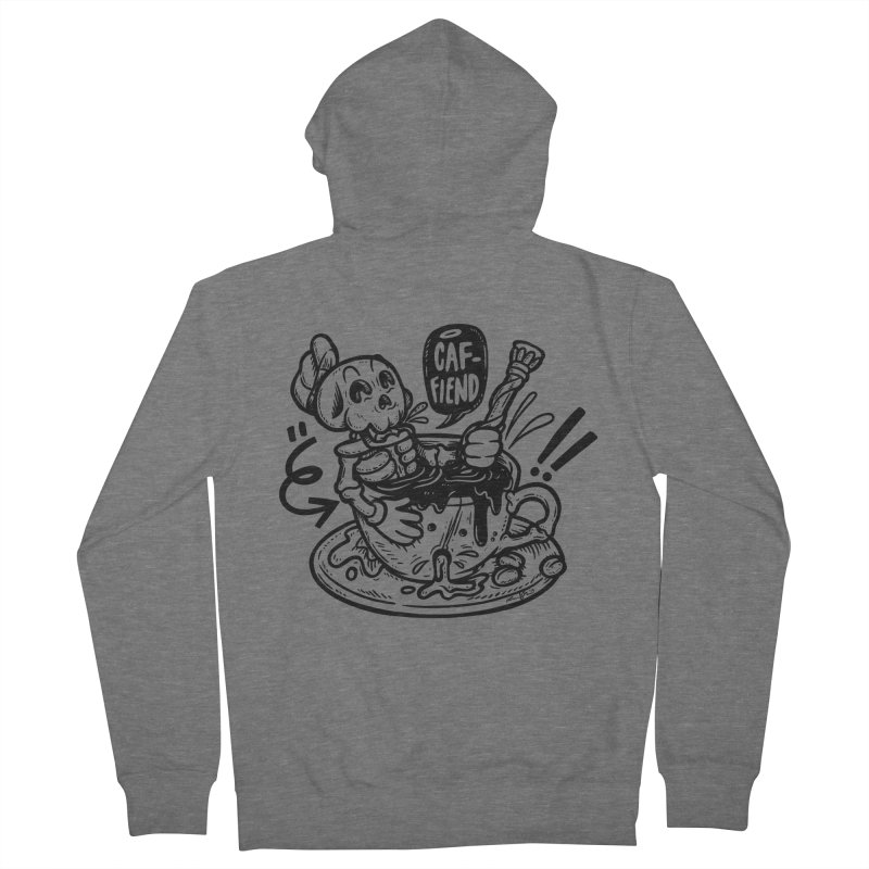 Caf Fiend Men's Zip-Up Hoody by RevengeLover's Corner of the Web