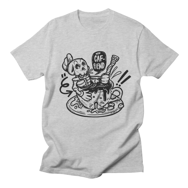Caf Fiend Men's T-Shirt by RevengeLover's Corner of the Web