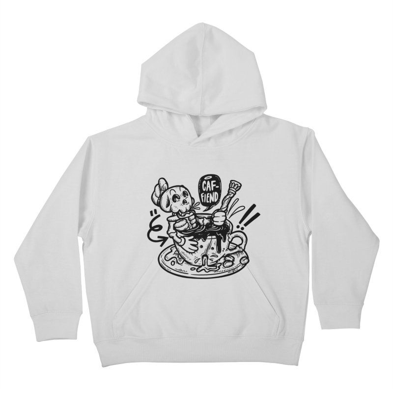 Caf Fiend Kids Pullover Hoody by RevengeLover's Corner of the Web