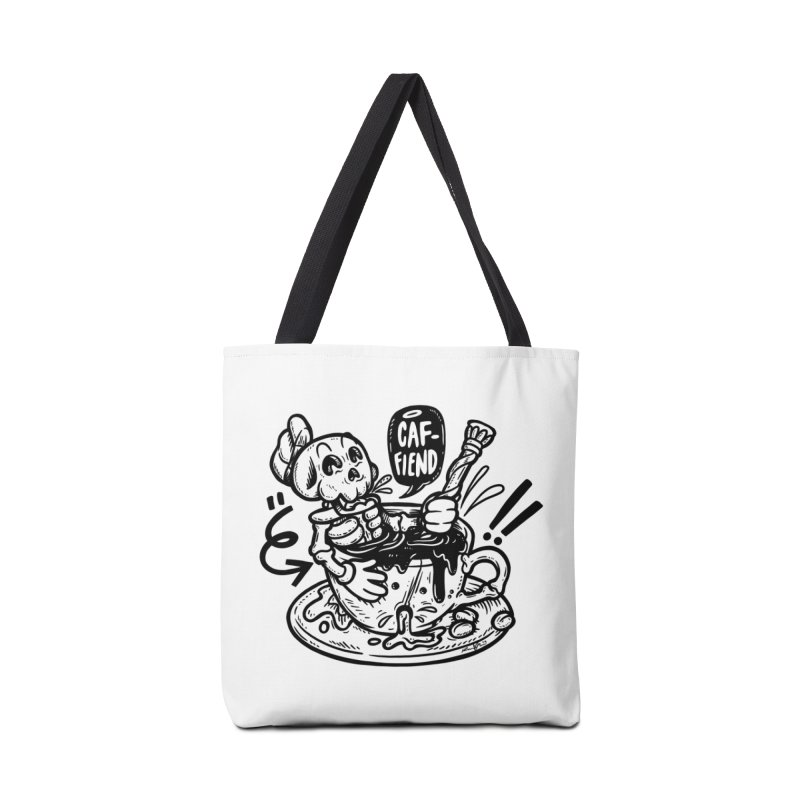 Caf Fiend Accessories Tote Bag Bag by RevengeLover's Corner of the Web