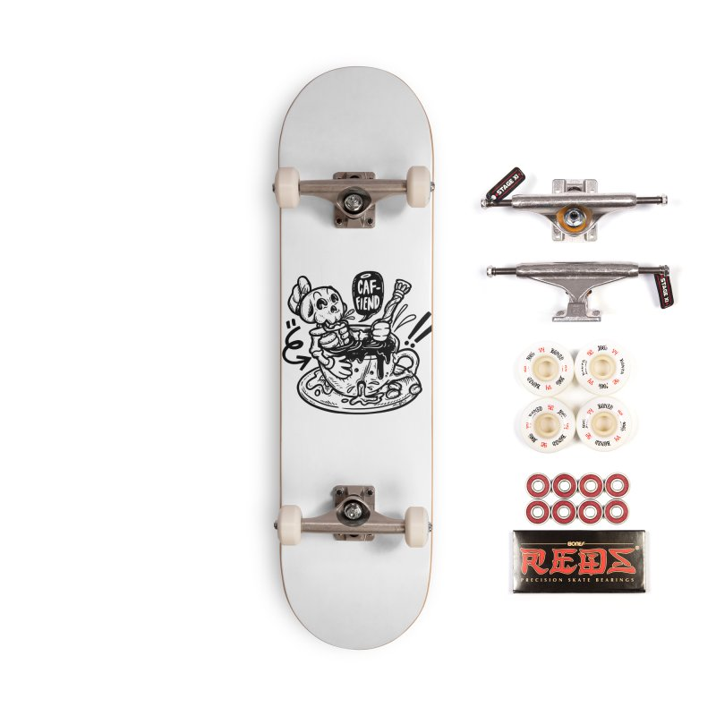 Caf Fiend Accessories Complete - Pro Skateboard by RevengeLover's Corner of the Web