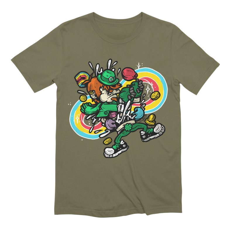Me Charms Men's Extra Soft T-Shirt by RevengeLover's Corner of the Web