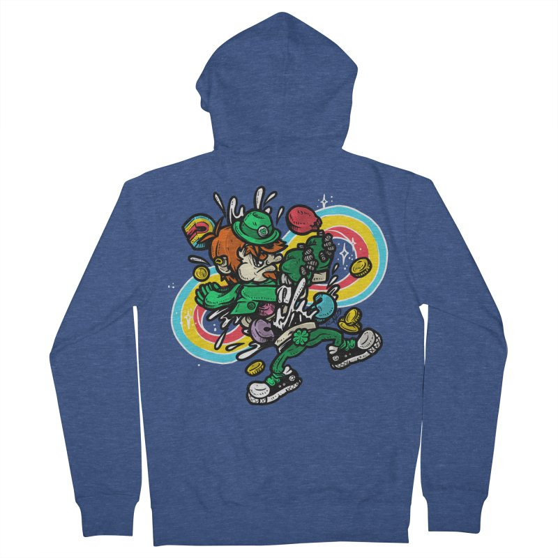 Me Charms Men's French Terry Zip-Up Hoody by RevengeLover's Corner of the Web