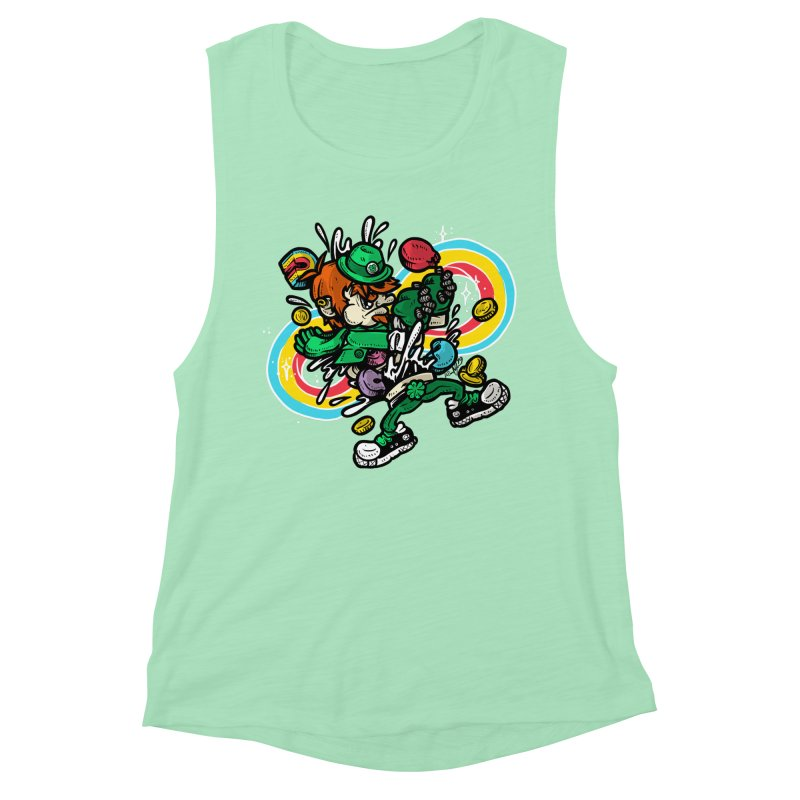Me Charms Women's Muscle Tank by RevengeLover's Corner of the Web