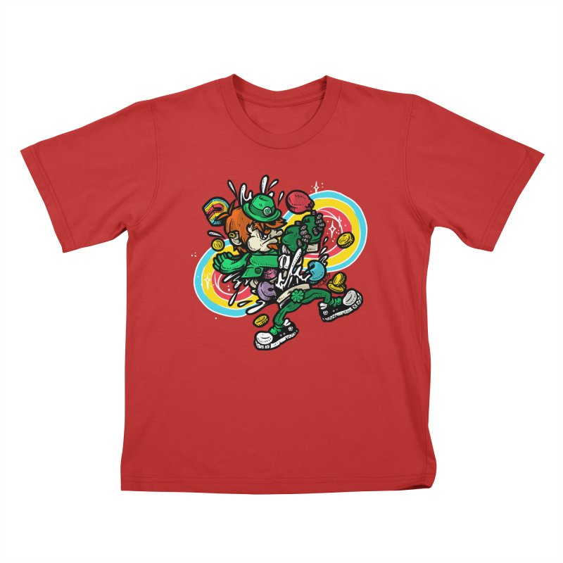 Me Charms Kids T-Shirt by RevengeLover's Corner of the Web