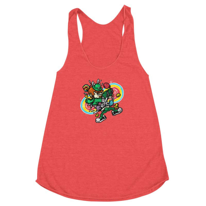 Me Charms Women's Racerback Triblend Tank by RevengeLover's Corner of the Web