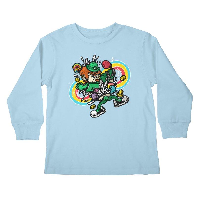 Me Charms Kids Longsleeve T-Shirt by RevengeLover's Corner of the Web