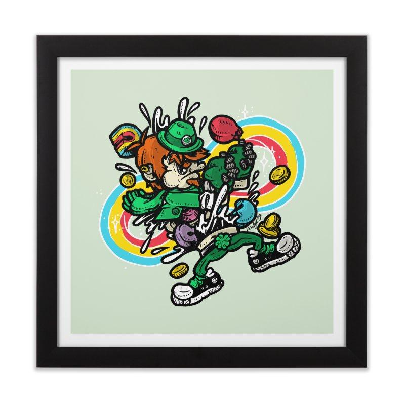 Me Charms Home Framed Fine Art Print by RevengeLover's Corner of the Web