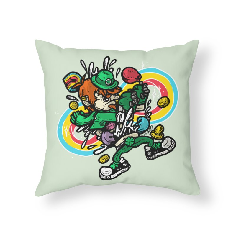 Me Charms Home Throw Pillow by RevengeLover's Corner of the Web