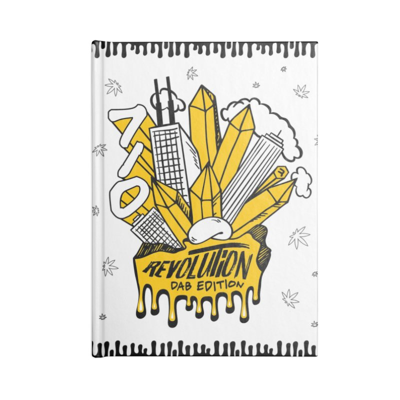 710 - Dab Edition Accessories Blank Journal Notebook by RevolutionTradingCo