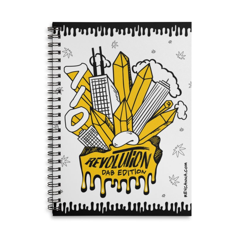 710 - Dab Edition Accessories Lined Spiral Notebook by RevolutionTradingCo