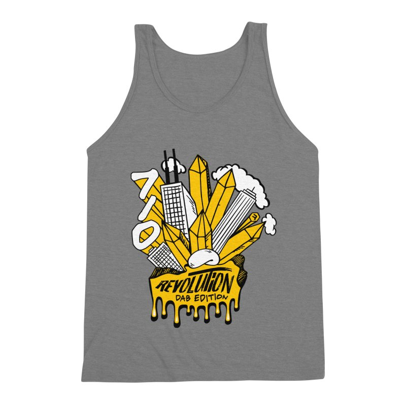 710 - Dab Edition Men's Triblend Tank by RevolutionTradingCo