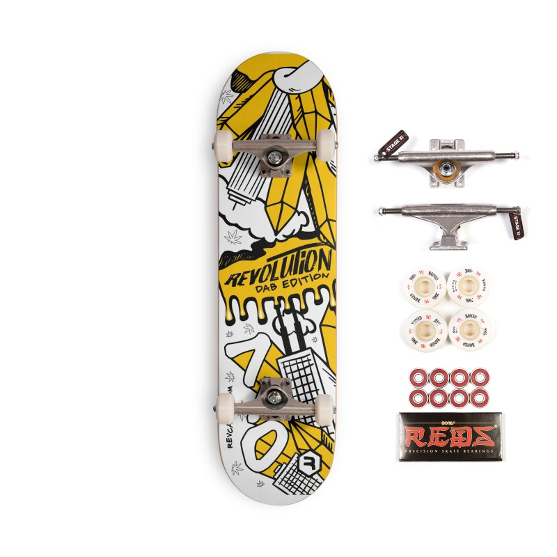 710 - Dab Edition Accessories Complete - Pro Skateboard by RevolutionTradingCo