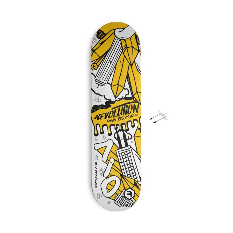 710 - Dab Edition Accessories Skateboard by RevolutionTradingCo
