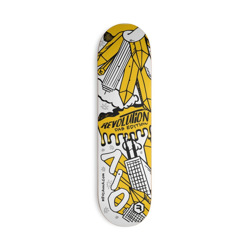 710 - Dab Edition in Deck Only Skateboard by RevolutionTradingCo